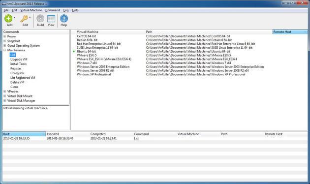 vmCLIpboard 2013 Release 1