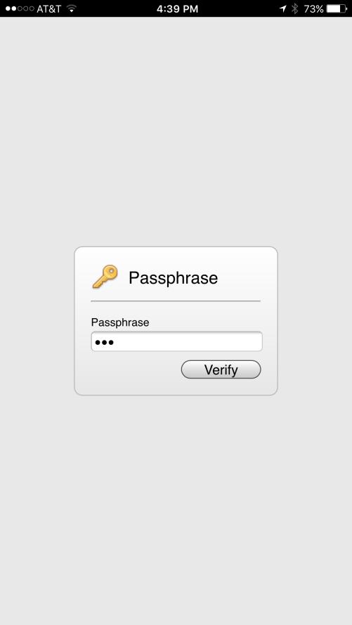 Mobile xProDDNS 2016 Release 2 Passphrase